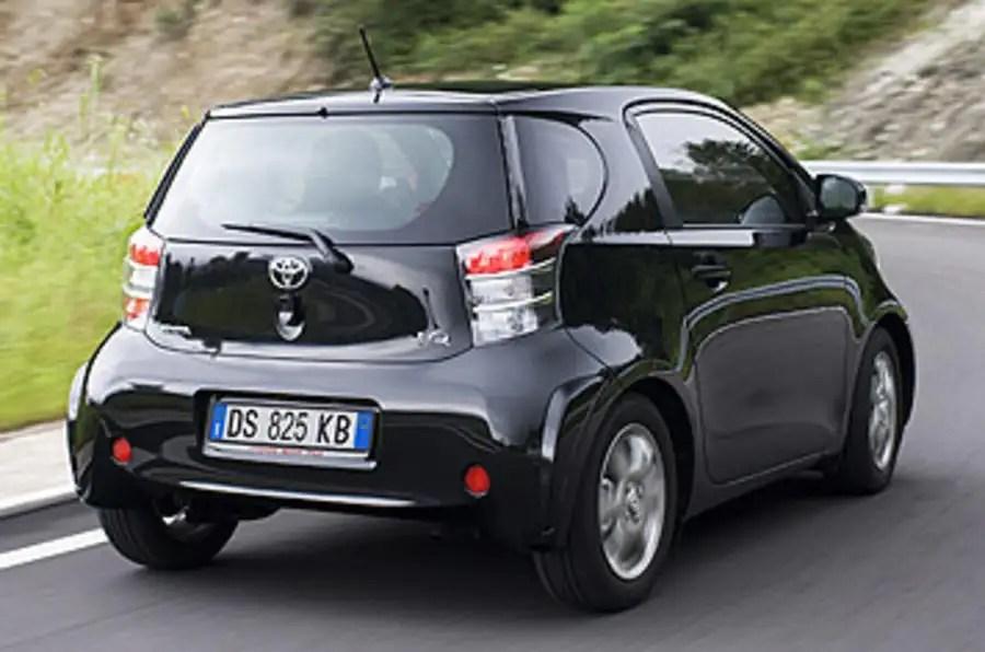 Toyota iQ 133 3 review  Autocar