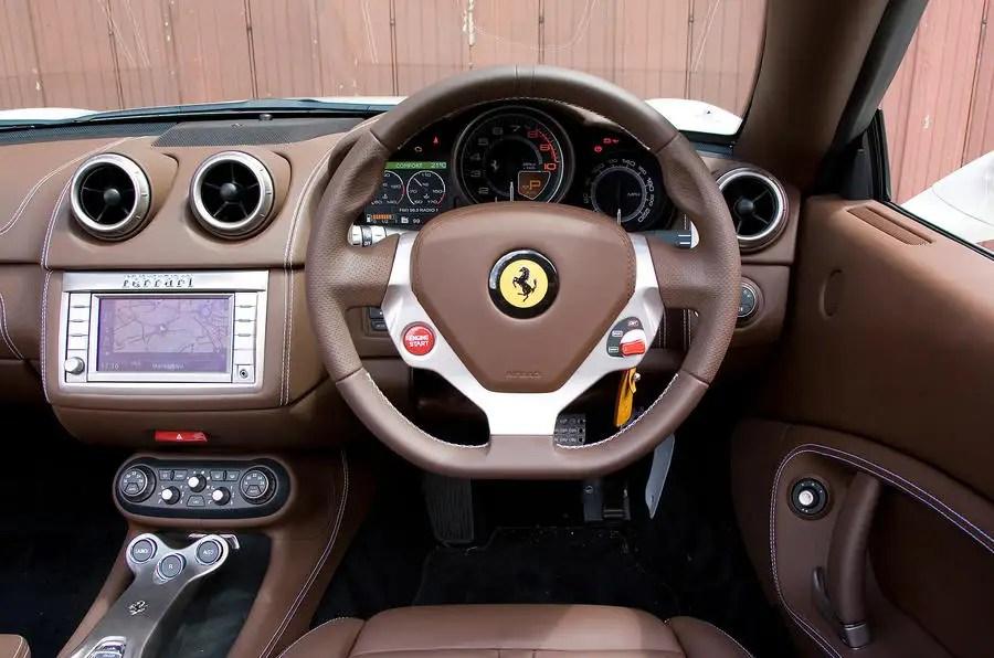 Ferrari California 20082014 interior  Autocar