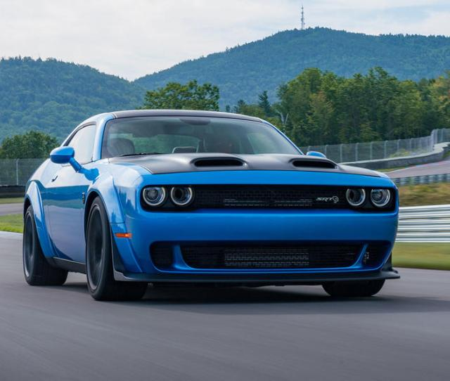 Dodge Challenger Hellcat Redeye Widebody  First Drive Review Hero Front