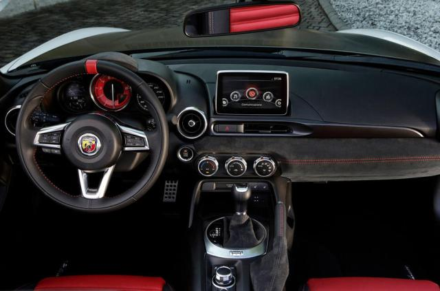 Abarth 124 GT review 2018 driving position