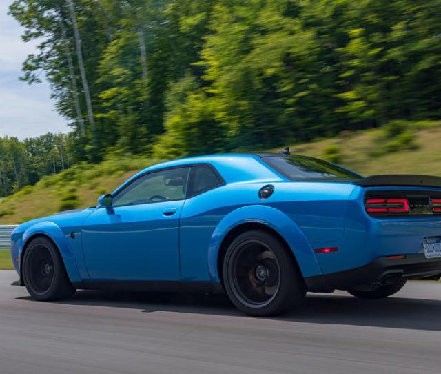 Dodge Challenger Hellcat Redeye Widebody  First Drive Review Hero Rear