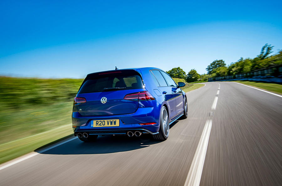 volkswagen golf r performance pack 2018 uk review autocar