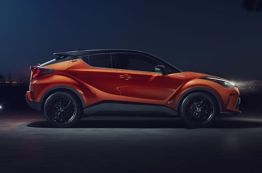 Updated Toyota C Hr Brings New Hybrid Engine Added Kit Autocar