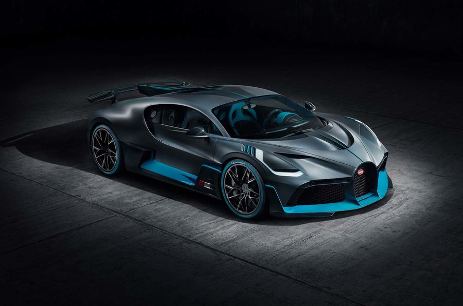 New Bugatti Divo trackfocused Chironbased hypercar