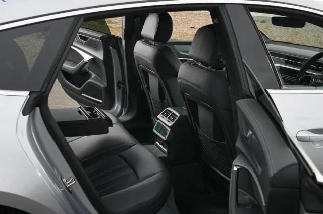 Audi A7 back seat
