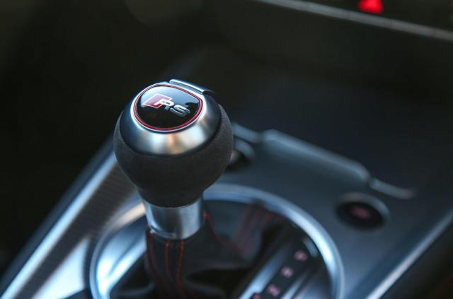 Audi TT RS Coupé automatic gearbox