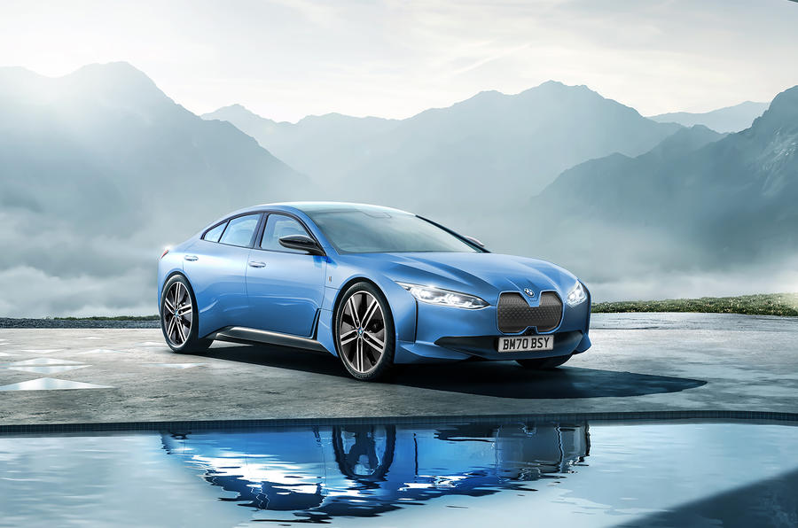 New BMW i4 Teslarivalling coupe seen winter testing
