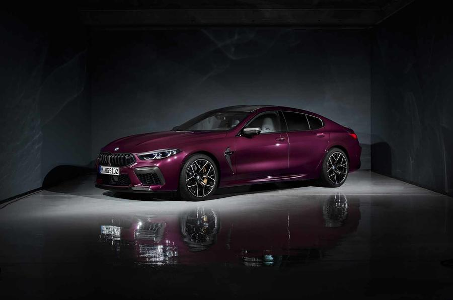 Bmw M8 Gran Coupe Has First Public Outing At La Show Autocar
