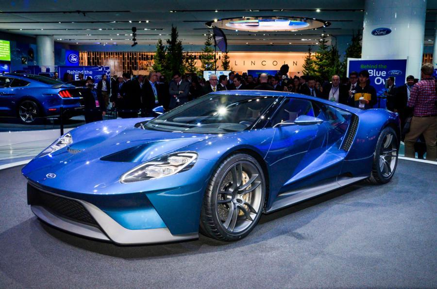 Ford GT exterior and interior colour options revealed