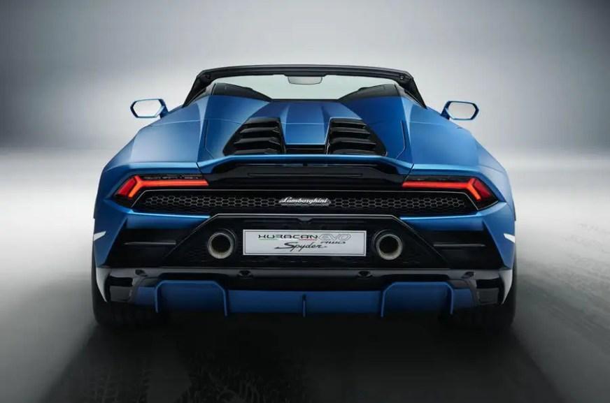 New Lamborghini Huracan Evo RWD Spyder revealed | Autocar