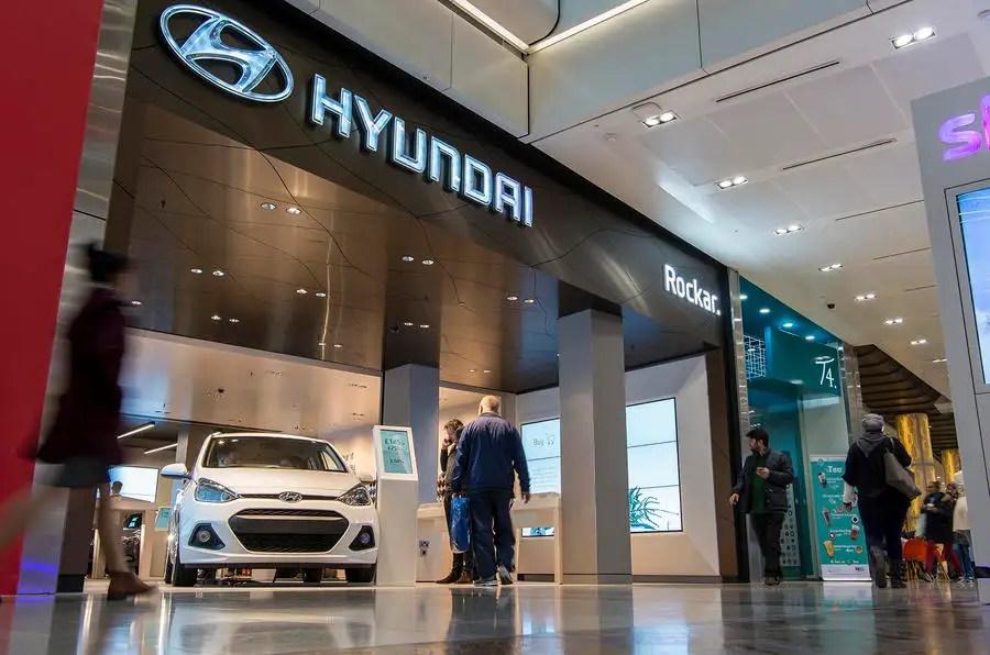 Second Rockar Hyundai Digital Car Store Opens In London Autocar