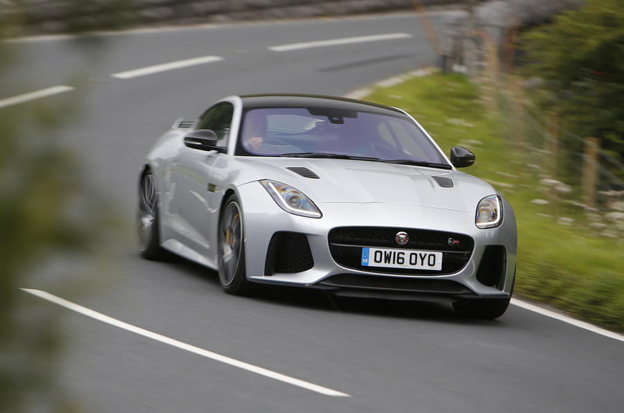 2016 Jaguar F Type SVR UK Review Autocar