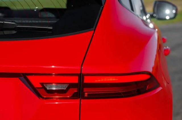 Jaguar E-Pace D180 rear light