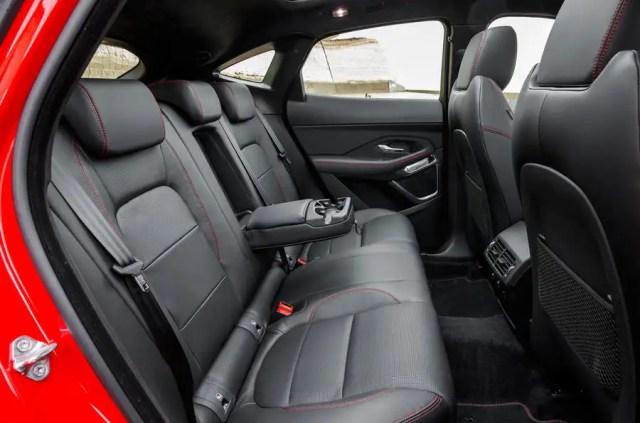Jaguar E-Pace D180 rear seats