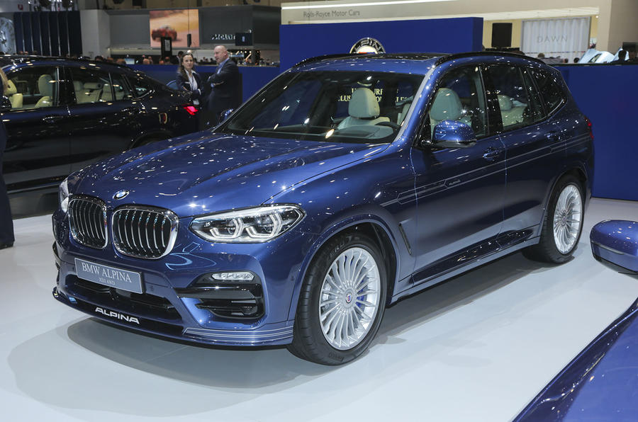 328bhp Alpina XD3 Guns For X3 M40i Mercedes AMG GLC43
