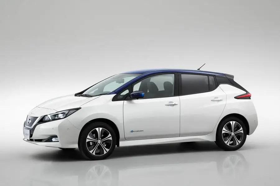 2018 Nissan LEAF SL Hatchback lease $399