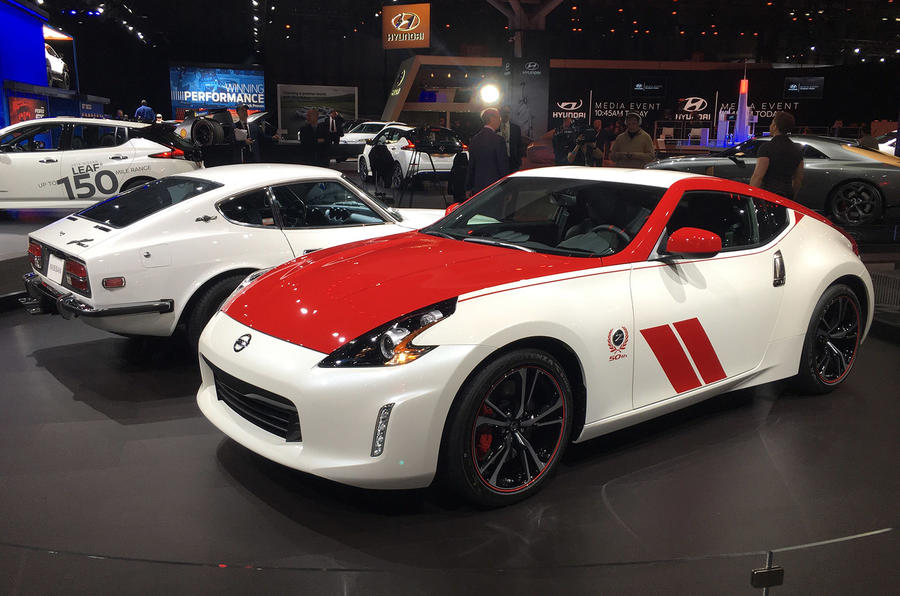Special Edition Nissan 370z Celebrates 50 Years Of Z Cars Autocar