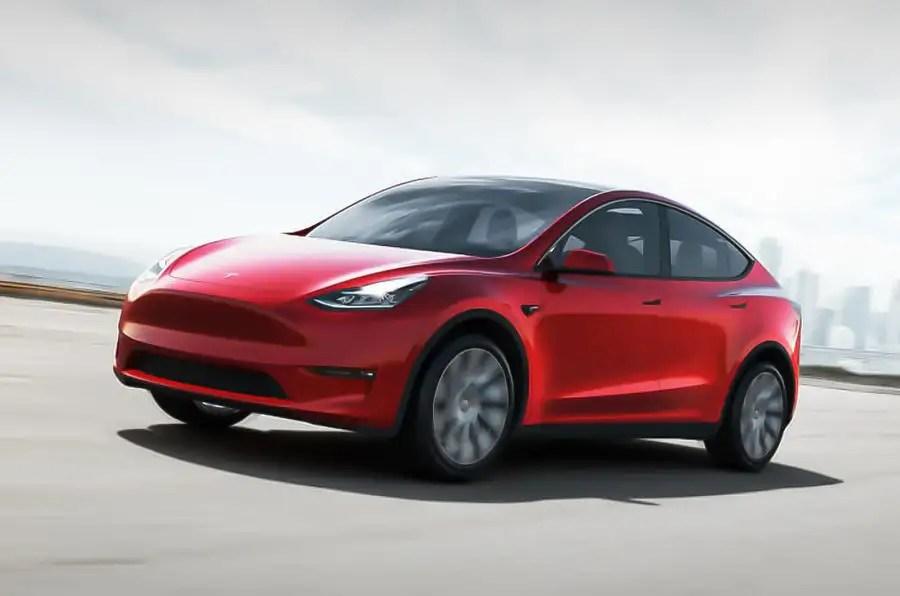 Sevenseat Tesla Model Y revealed with 300mile range