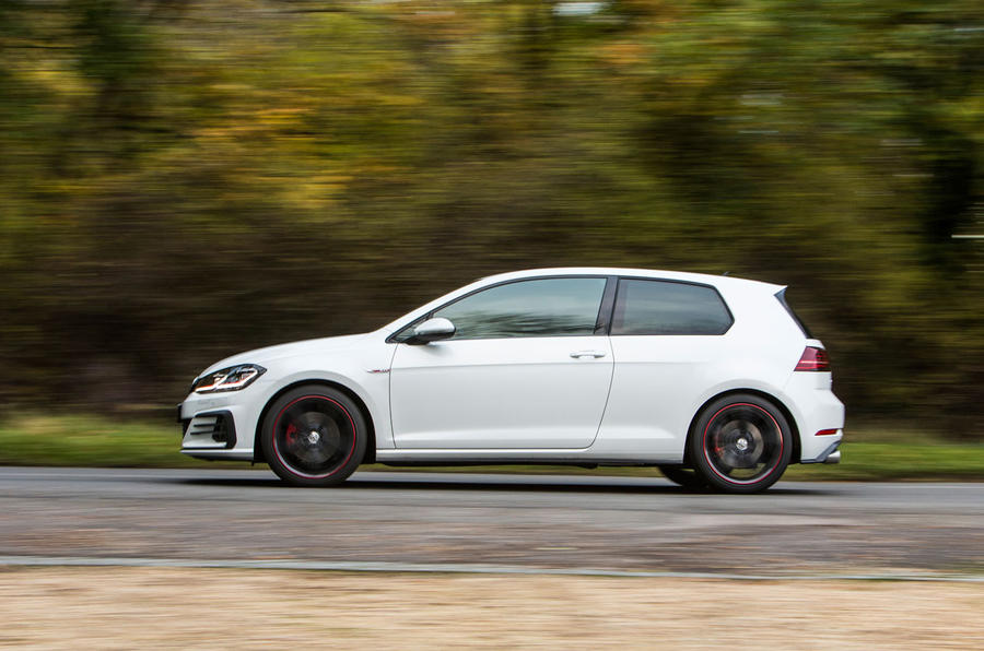 ... Volkswagen Golf GTI Side Profile ...