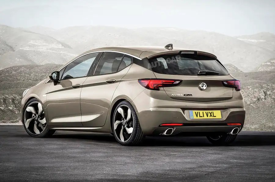 2016 Vauxhall Astra GSi Planned Autocar