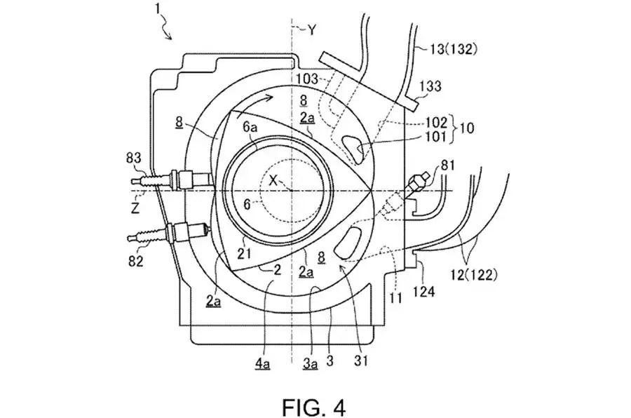 mazda rotary engine with