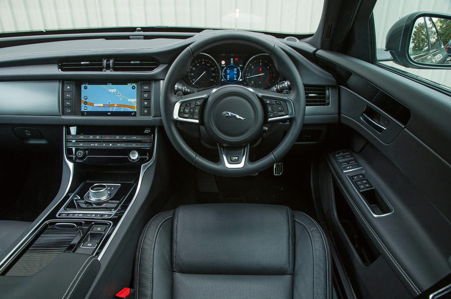 This jaguar is in a very neat and original condition (the interior,. Jaguar XF interior | Autocar