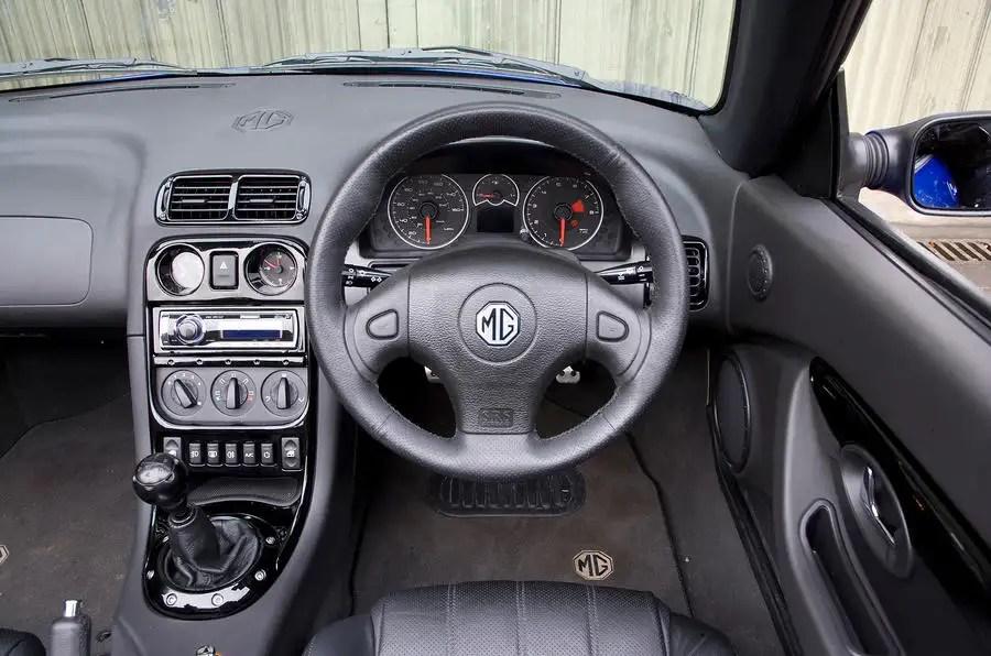 MG Motor TF 2002 2005 Interior Autocar