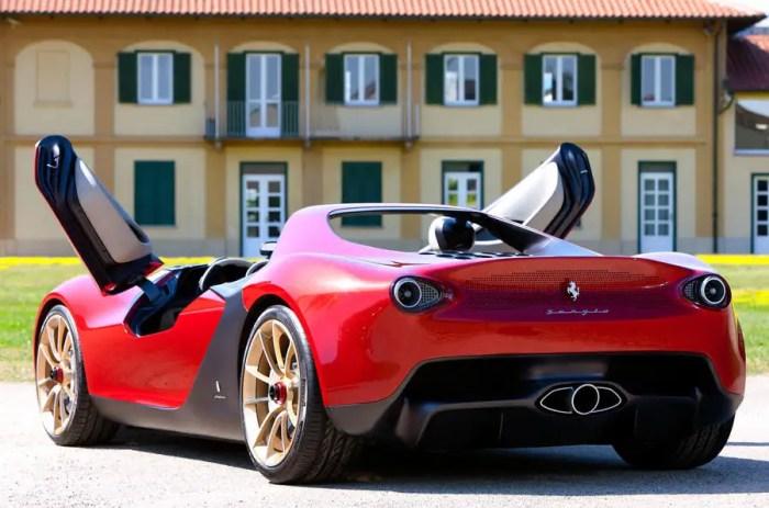 Resultado da imagem para Ferrari Pininfarina Sergio