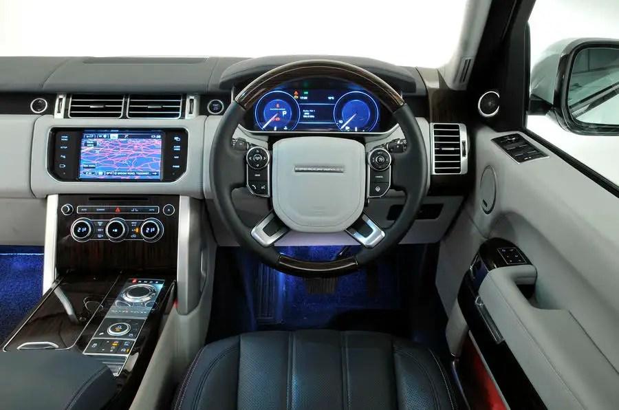 Range Rover Interior Dashboard