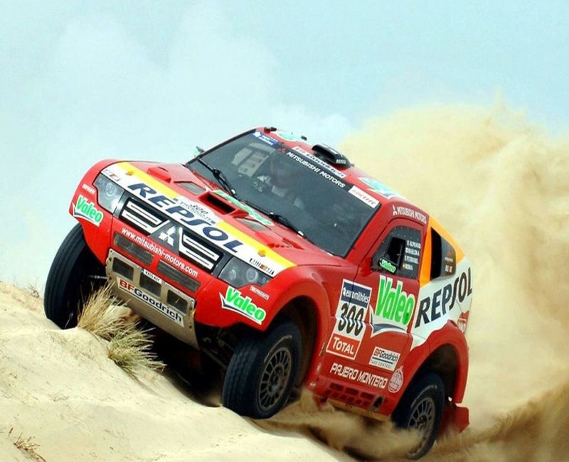 2007 Mitsubishi dakar 12th Championship win