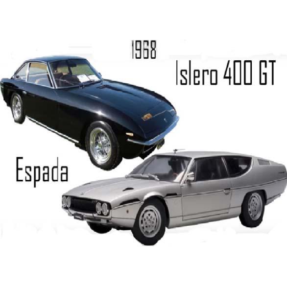 Lamborghini Espada , Islero 400 GT (1968)