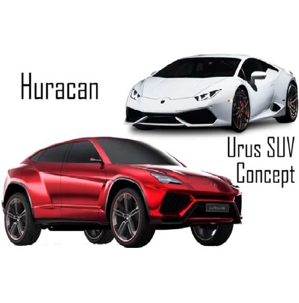 Lamborghini Urus SUV Concept , Huracan