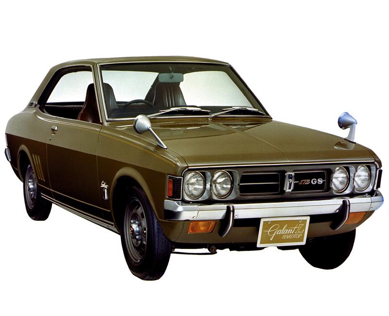 Mitsubishi colt 1970