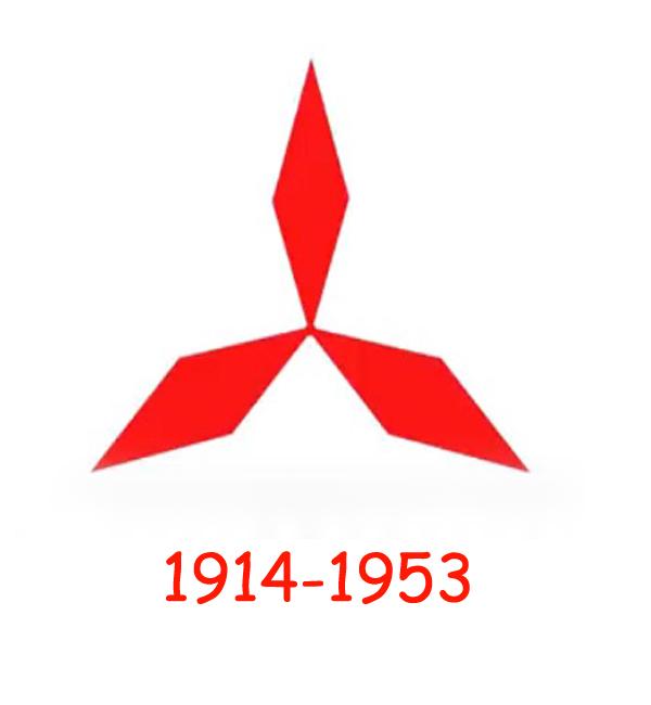 Mitsubishi logo 1914-1953