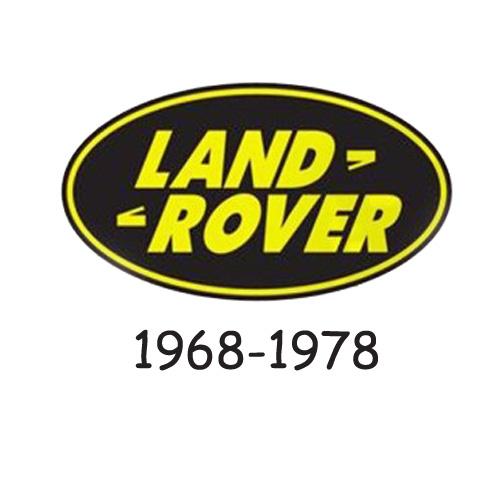 land rover logo 1968-1978
