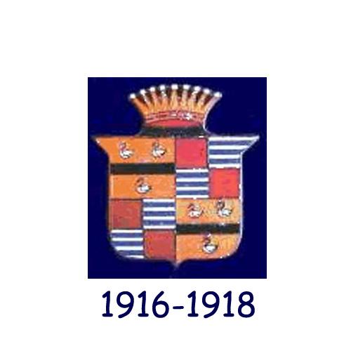 Cadillac logo 1916-1918