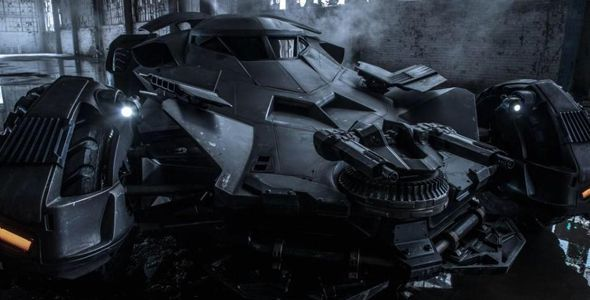 "Desvelado el Batmóvil de ""Batman vs Superman"""