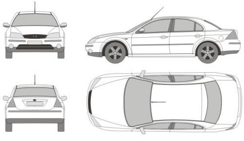 Ford Mondeo III Sedan • Dane techniczne • AutoCentrum.pl