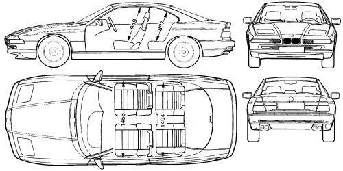 BMW Seria 8 I • Dane techniczne • AutoCentrum.pl
