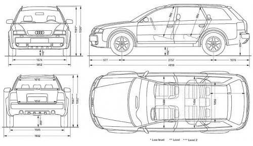 Audi Allroad C5 • Dane techniczne • AutoCentrum.pl