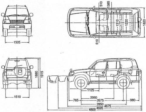 Toyota Land Cruiser III • Dane techniczne • AutoCentrum.pl