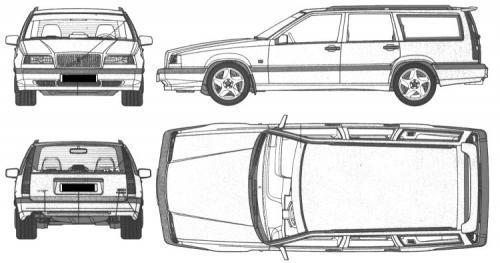 Volvo 850 Kombi • Dane techniczne • AutoCentrum.pl