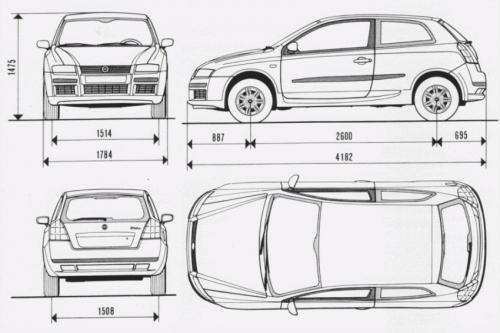 Fiat Stilo Hatchback • Dane techniczne • AutoCentrum.pl