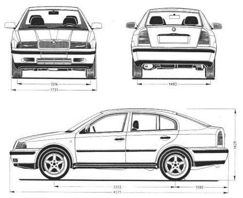 Skoda Octavia I Hatchback • Dane techniczne • AutoCentrum.pl