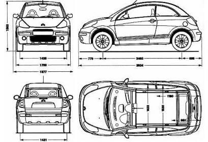 Citroen C3 I • Opinie • Spalanie • Testy • AutoCentrum.pl