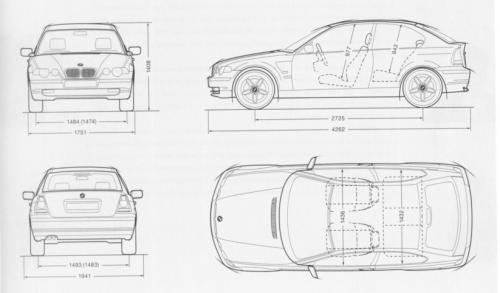 BMW Seria 3 E46 Compact • Dane techniczne • AutoCentrum.pl