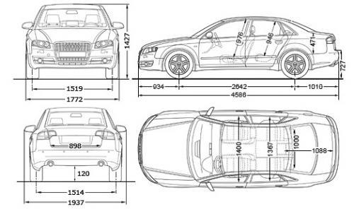 Audi A4 B7 Sedan • Dane techniczne • AutoCentrum.pl