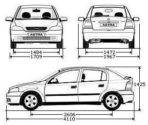 Opel Astra G Hatchback • Dane techniczne • AutoCentrum.pl