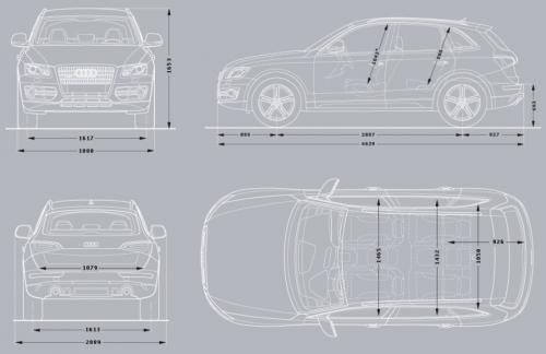 Audi Q5 I SUV • Dane techniczne • AutoCentrum.pl