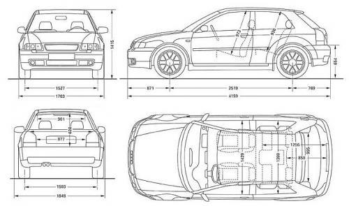 Audi A3 8L S3 Hatchback • Dane techniczne • AutoCentrum.pl